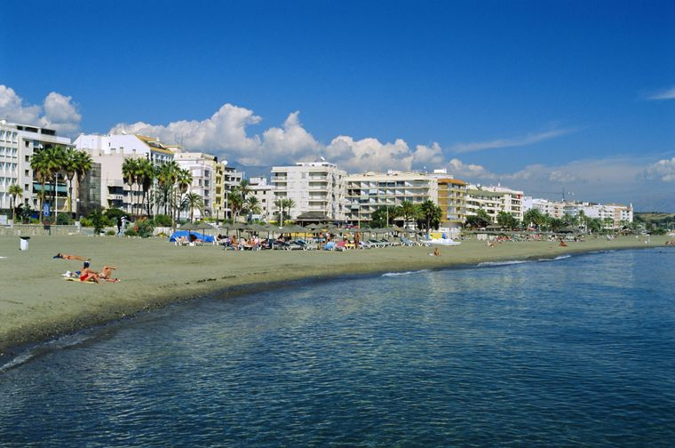 Playa ja Rada ist der Stadtstrand von Andalusien.