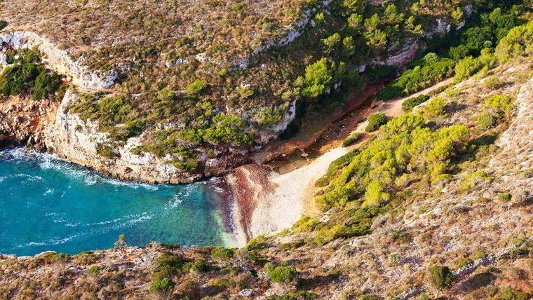 Coll de Baix ist ein Strand im Norden von Mallorca.