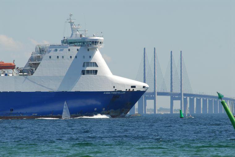 Shipspotting am Oeresund.