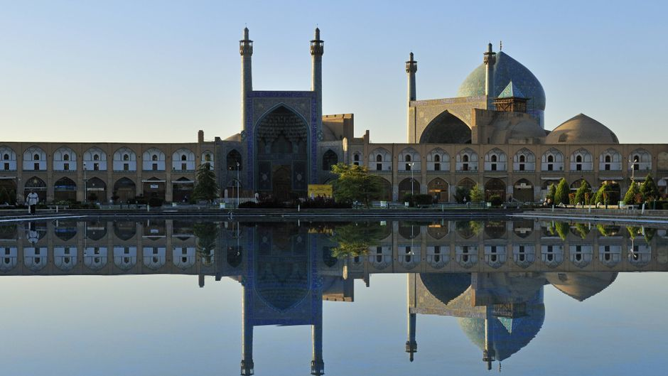 UNESCO Weltkulturerbe: Die Emam-Moschee am Meidan-e Imam.