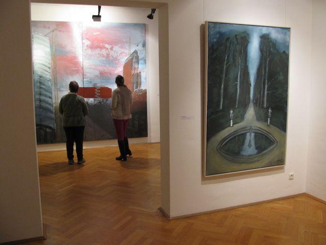 Gemälde im Städtischen Museum Eisenhüttenstadt.