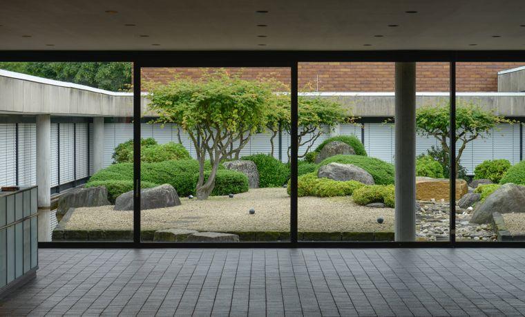 Der Innenhof des Museums für Ostasiatische Kunst: hier kannst du etwas lernen und dabei richtig runterkommen.