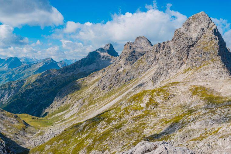 Der Heilbronner Höhenweg ist eine Herausforderung für jeden Wanderer.