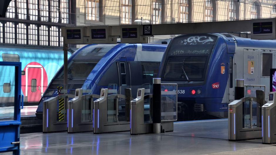 Am 9. Oktober könnten in Frankreich erneut Züge stillstehen.
