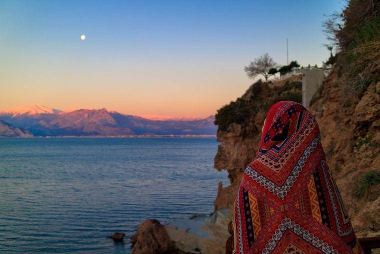 An der Südküste der Türkei herrschen im Winter milde Temperaturen.