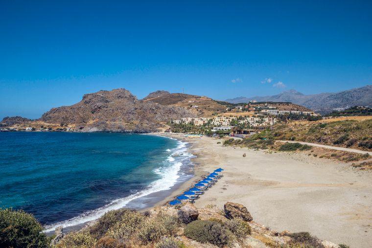 Kreta, die größte Insel Griechenlands, bezaubert mit traumhaft schönen Stränden.