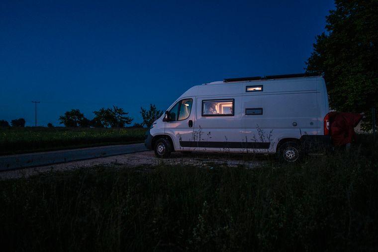 Der Kastenwagen bietet nun wieder etwas mehr Platz für deinen Camping-Urlaub