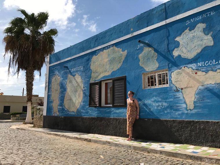reisereporterin Maike möchte wieder nach Afrika – 2019 war sie zuletzt auf der Kapverden-Insel Sal.