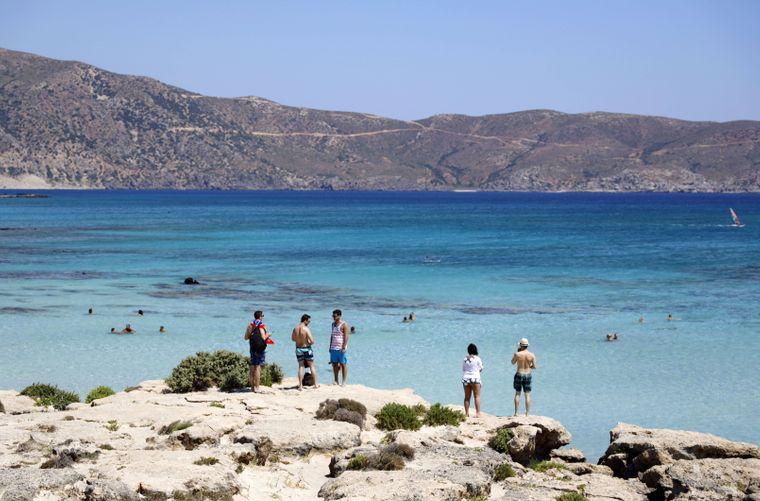 Elafonisi ist eine kleine Insel südwestlich der griechischen Mittelmeerinsel Kreta.
