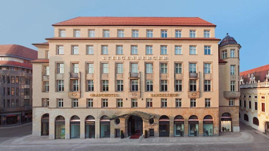 Das Steigenberger Grandhotel Handelshof in Leipzig. (Symbolbild)