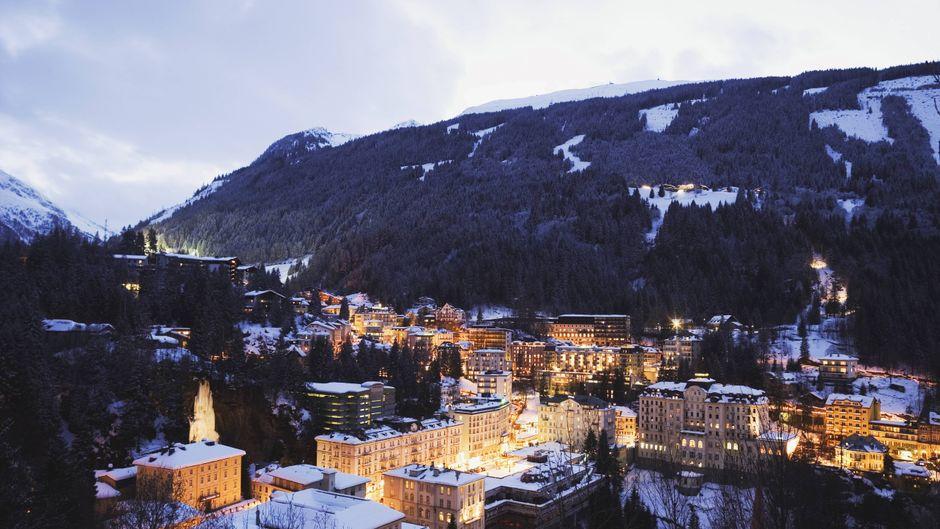 Bad Hofgastein ist vor allem im Winter bei Urlaubern beliebt.