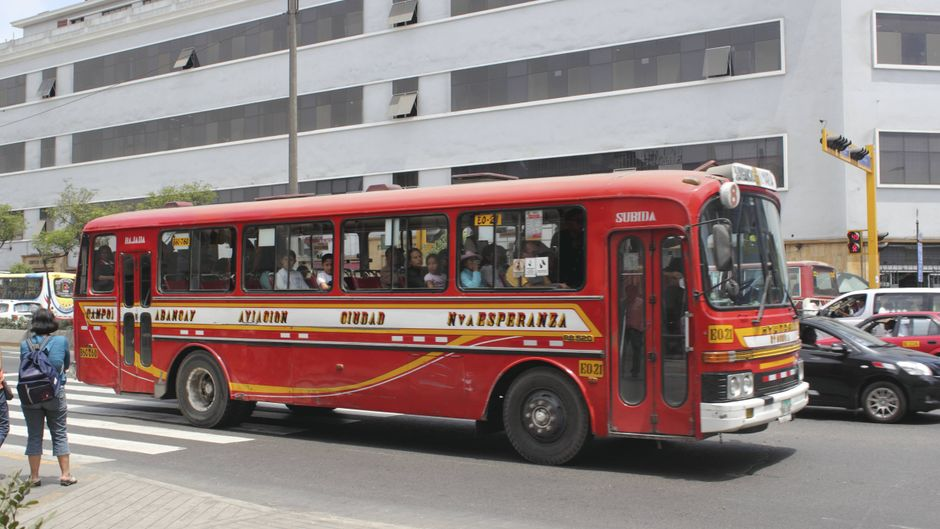 Bus in Südamerika.