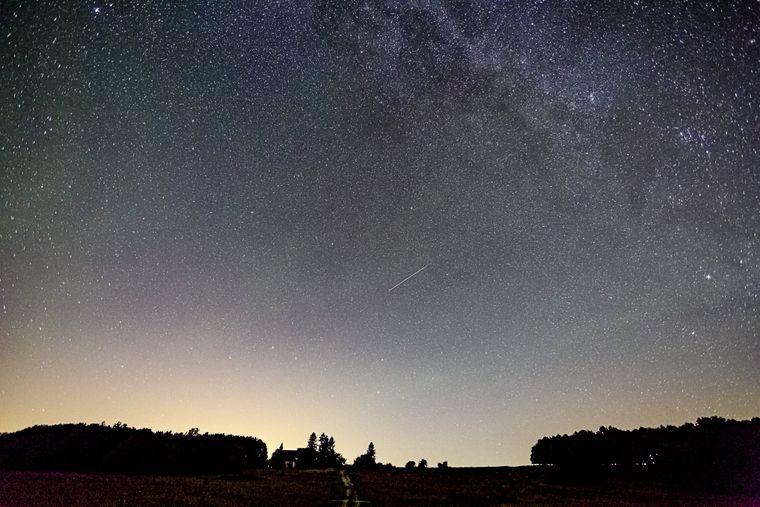 Sternegucken im Winter lohnt sich – dann ist die Luft oft besonders klar.