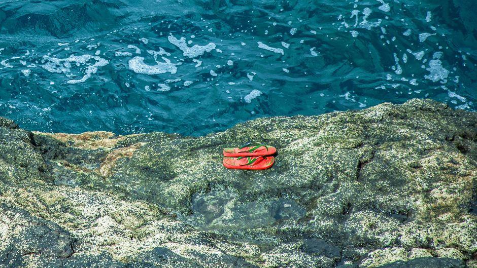Flip-Flops verboten: Der Nstionalpark Cinque Terre startet eine Anti-Badelatschen-Kampagne. (Symbolfoto)