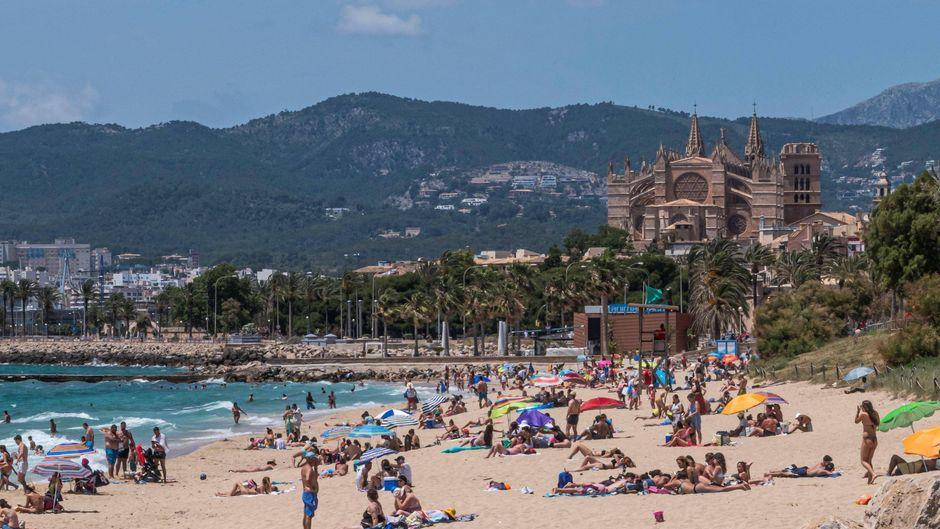 Die Spanier selbst dürfen die Strände auf Mallorca bereits nutzen – dürfen auch Tausende Touristen aus Deutschland sollen ab Mitte Juni wieder auf die Inseln kommen.