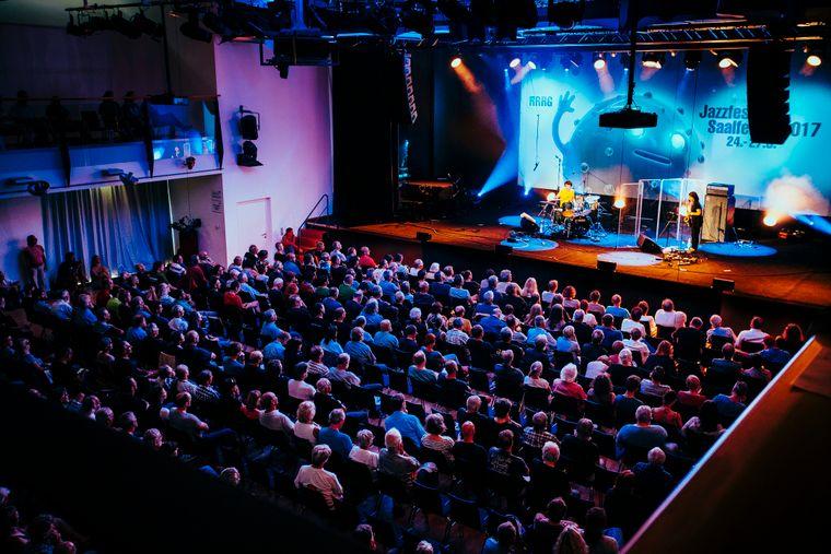 Über Jahrzehnte hat sich das Jazzfestival Saalfelden eine große Fangemeinde erspielt.