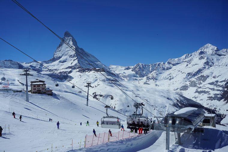 Das Skigebiet Zermatt ist im Jahr 2020 zum besten Skigebiet der Alpen gekürt worden.