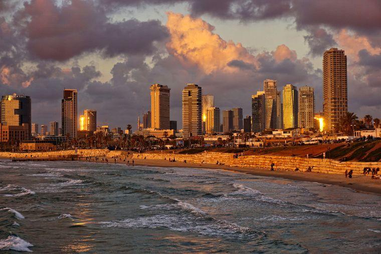 Platz 4: Tel Aviv, Israel (durchschnittlich 188 Dollar, etwa 161 Euro, pro Nacht).