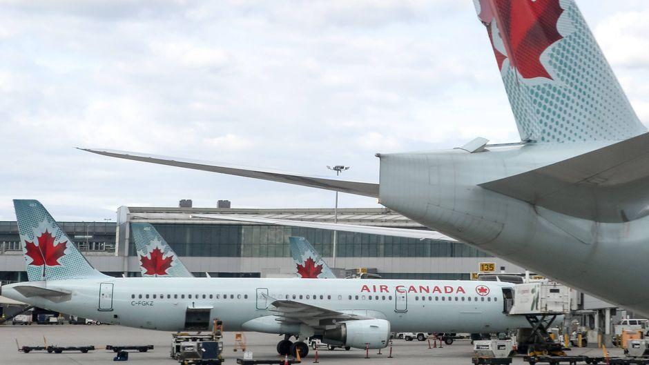 Die Passagierin wachte nach der Landung im Air-Canada-Flieger auf. Sie war eingeschlossen.