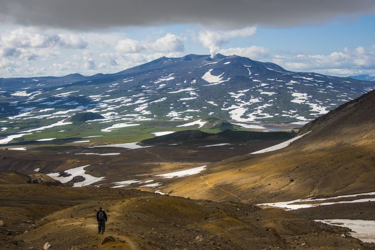 Beim Wandern in Kamtschatka triffst du höchstens die wilden Tiere der Halbinsel.