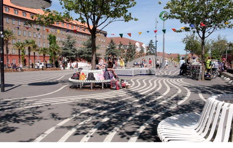 Park in Nørrebro, Kopenhagen