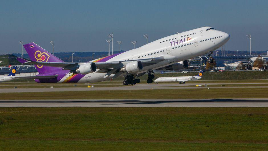 Die Thai-Airways-Piloten weigerten sich zu starten, weil ihre Kollegen außer Dienst keine Plätze in der First Class hatten. (Symbolfoto)