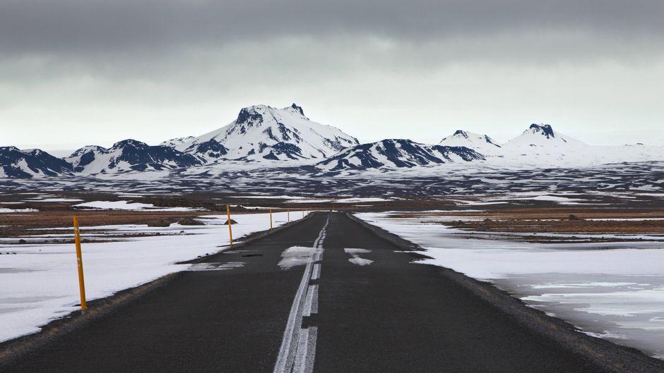 Der Langjökull in Island.