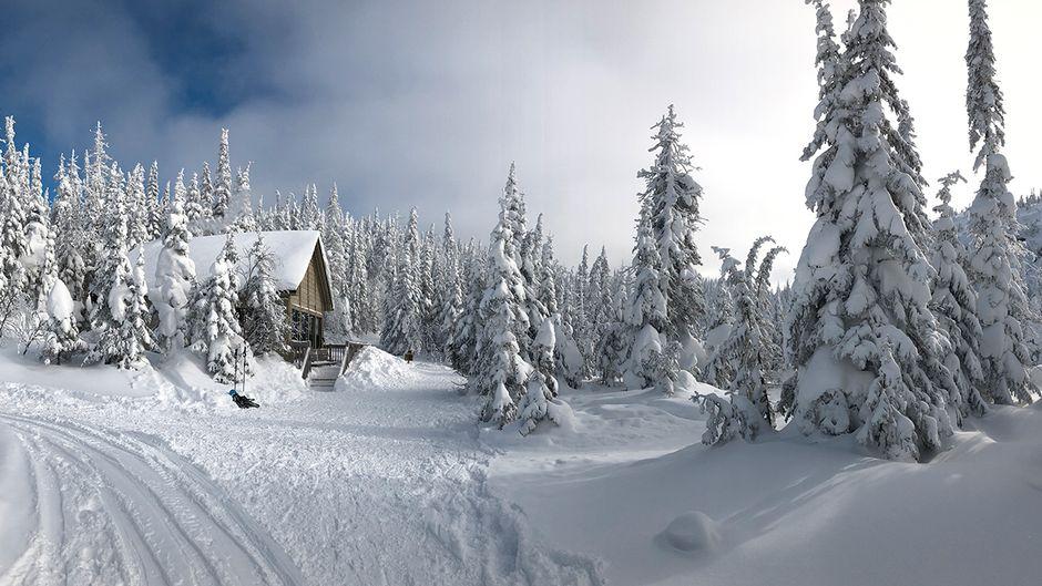Im Nationalpark Monts-Valin lohnt sich eine Schneeschuhwanderung im Tal der Phantome.