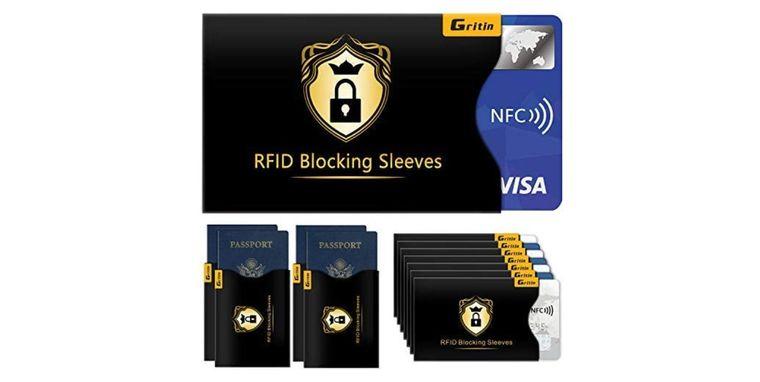 RFID Kartenschutzhüllen