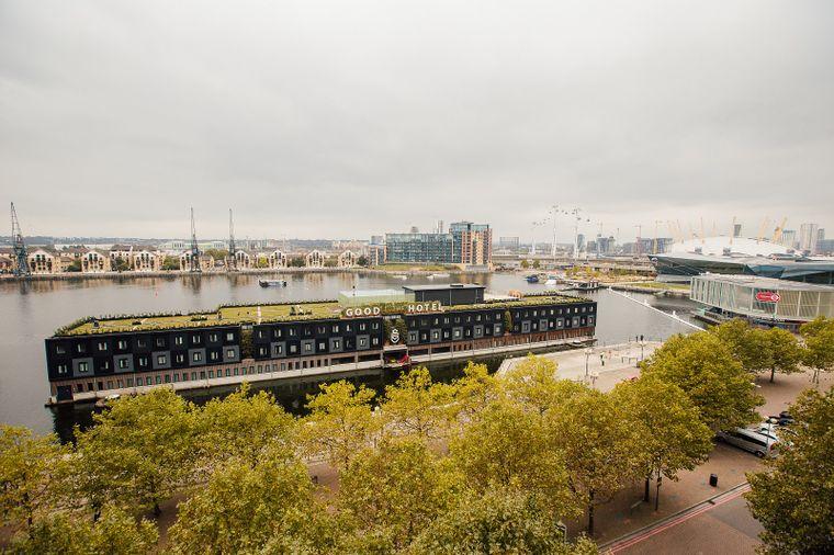 Blick aufs Good Hotel in London