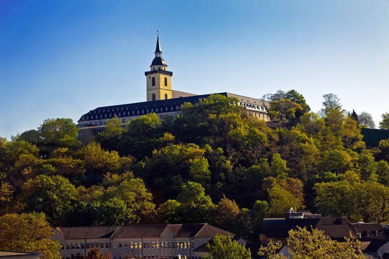 Die Abtei Michaelsberg in Siegburg.
