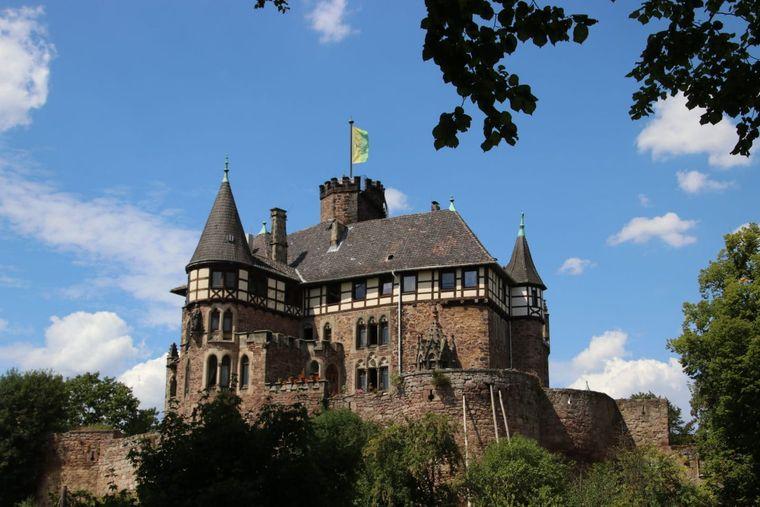 Das Schloss Berlepsch.