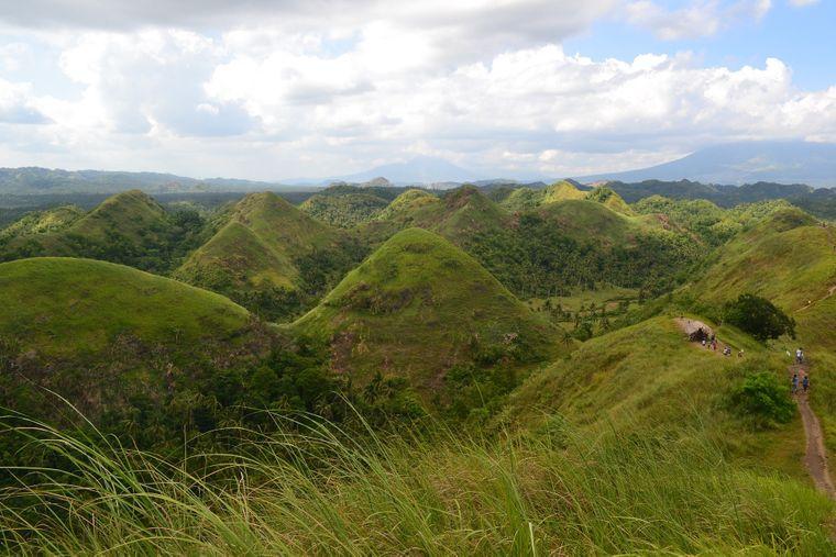 Chocolate Hills auf Bohol (Philippinen)