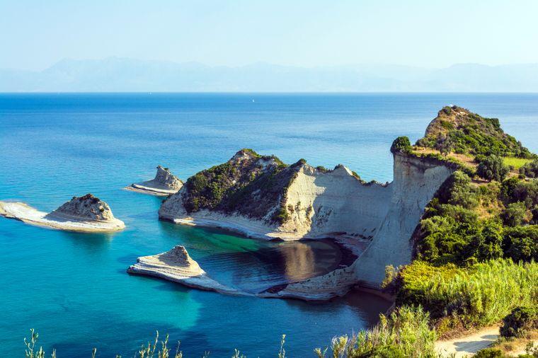 Das Kap Drastis ist einer der besten Aussichtspunkte der Insel.
