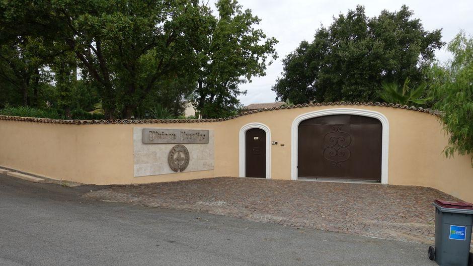 Unscheinbar: Das Geissen-Hotel in St. Tropez.