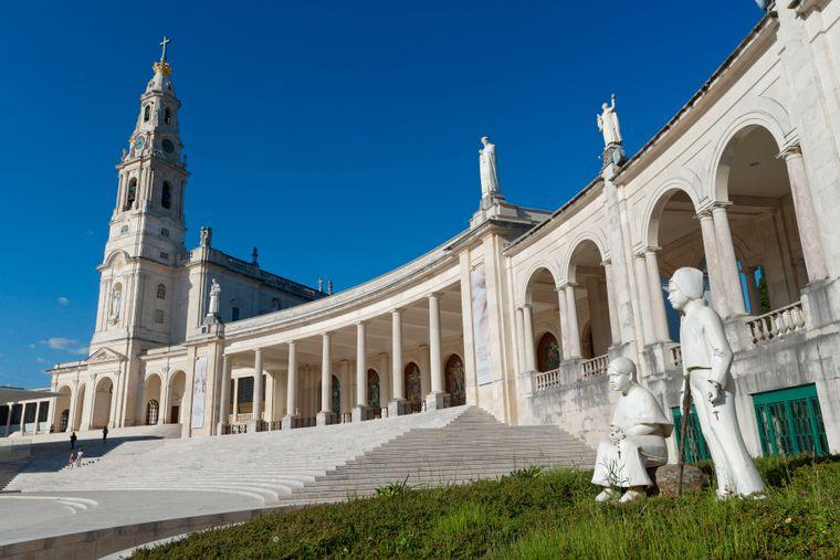 Das Heiligtum von Fátima gilt als Hotspot für Pilger aus aller Welt.