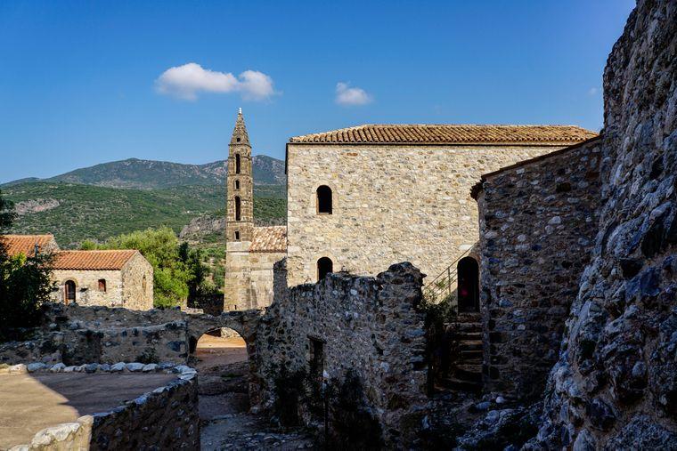 Kardamili auf der griechischen Mani-Halbinsel, Peloponnes.