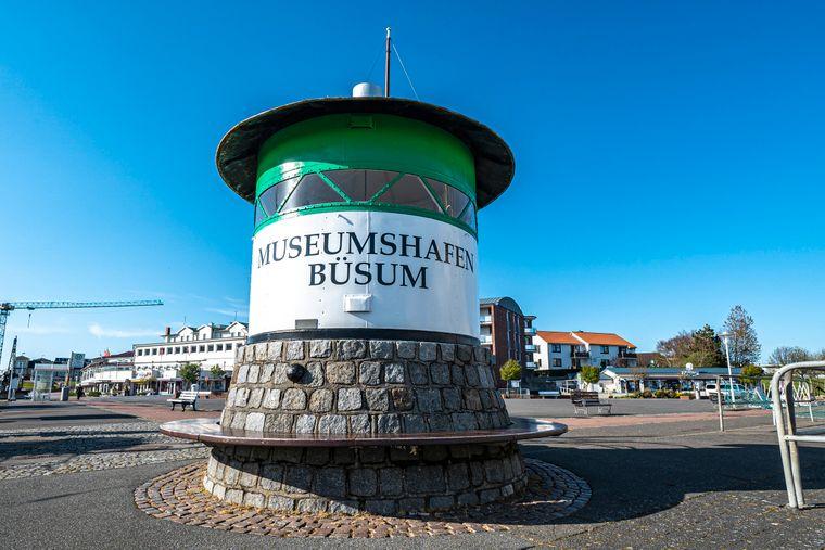 Im Museumshafen von Büsum sind jede Menge historische Schiffe zu sehen.