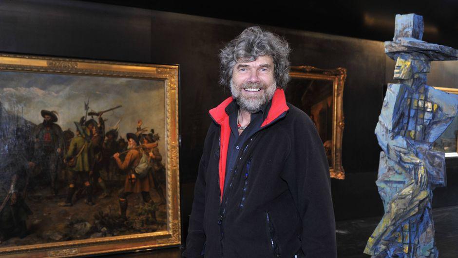 Im Reinhold Messner Museum werden tolle Ausstellungen präsentiert, zum Beispiel die Andreas Hofer Ausstellung.