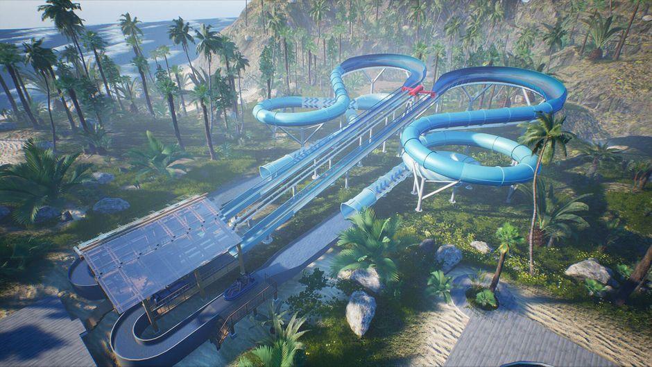 """Eine Visualisierung des """"Slide Coasters""""."""