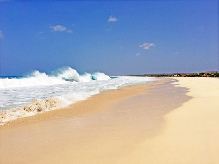 Der Strand der Kapverden