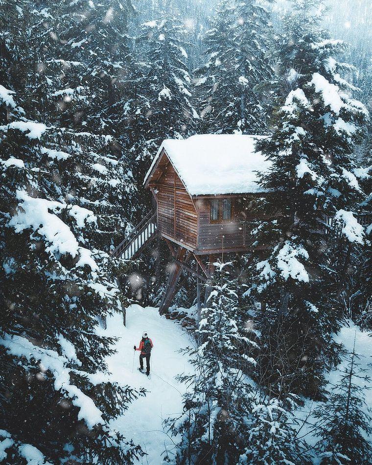 """""""Schneeschuhwandern"""" von @ghislainfave aus Frankreich. Ort: Mercantour-Nationalpark, südfranzösische Alpen, Frankreich."""