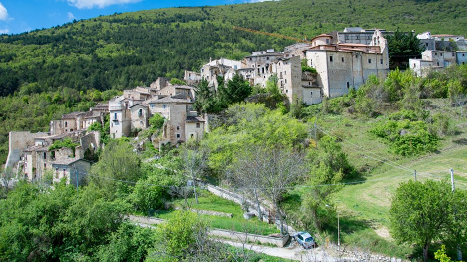 In diesem malerischen Dorf steht das Haus, das verlost wird.