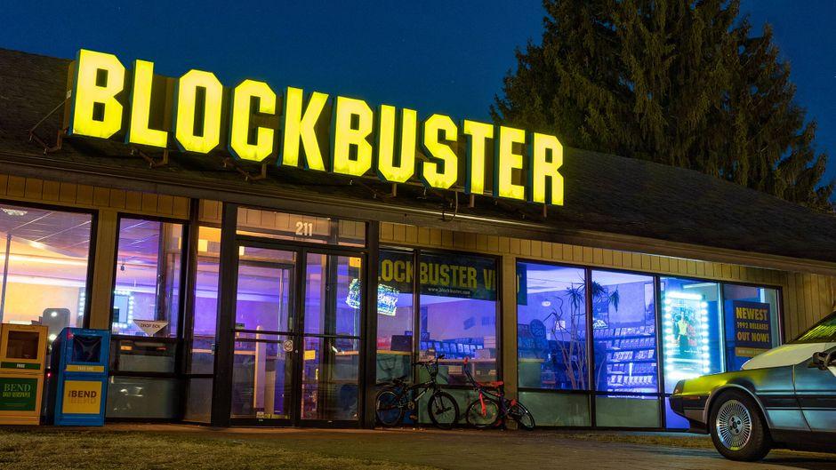 Blockbuster Videothek