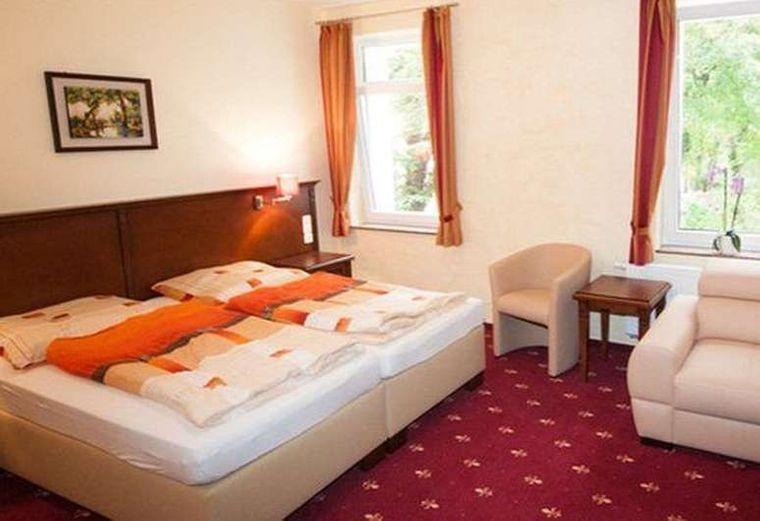 Ansicht Doppelzimmer Hotel Medaillon
