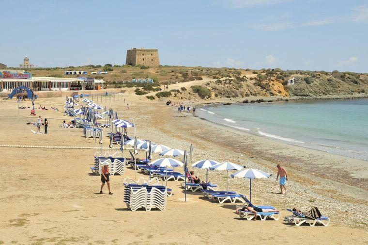 Spanisches Strandidyll: Die Playa Grande auf der Insel Tabarca.