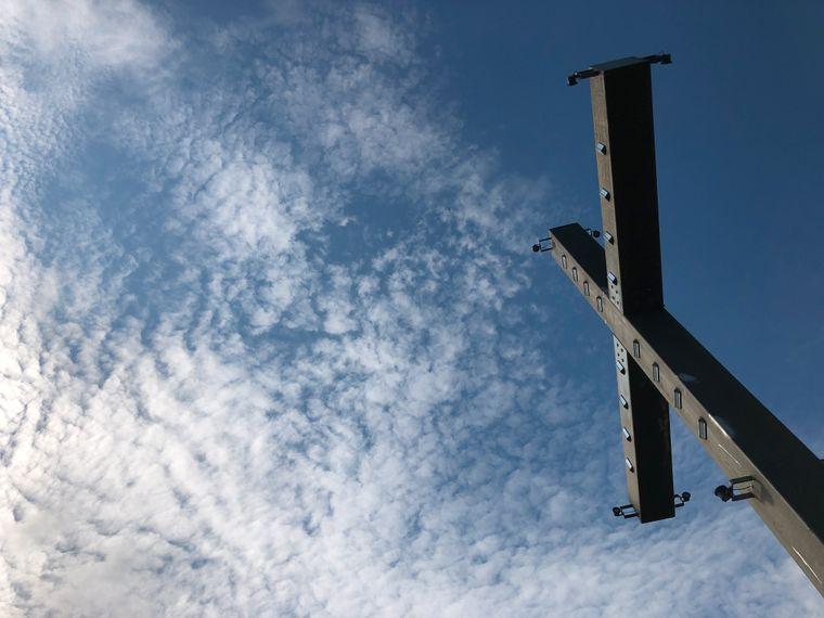 Das Kreuz auf dem Sonnenstein.