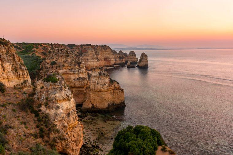 Der Küstenort Lagos gehört zu den schönsten Orten in ganz Portugal.