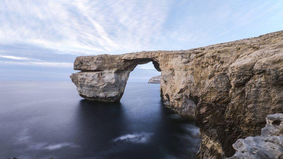 Das Fenster von Malta vor der Insel Gozo