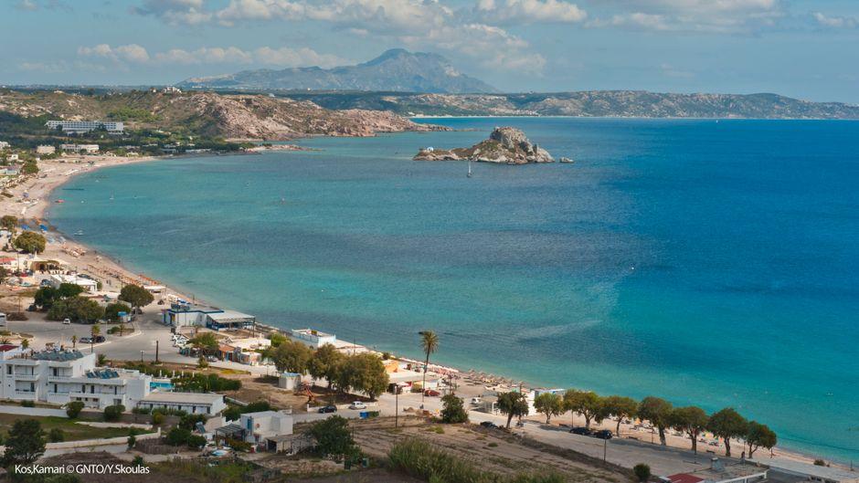 Neben den Stränden und den charmanten griechischen Dörfern punktet Kos vor allem mit vielen antiken Ruinen und Ausgrabungsstätten.